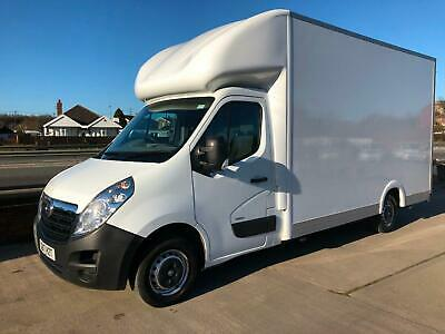 2017 17 Low Loader Vauxhall Movano Luton Van Extra Large & High