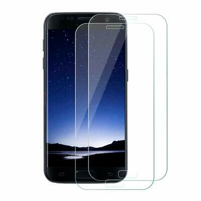 2x Samsung Galaxy S7 3D Panzer-Schutzglas Glas 9H Tempered Glass curved, klar