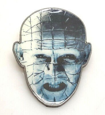 """Pinhead Hellraiser III Loot Crate Metal 2"""" Pin- Carded- Mailed from USA(HRPI-01)"""