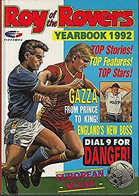 ROY OF THE ROVERS YEARBOOK 1992, , Used; Good Book