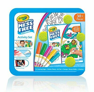 Crayola 75 2060 Color Wonder Finger Paint New Mess Free