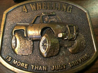 4 Wheeling Belt Buckle Is More Than Just Driving 1978 Bergamot Four Wheel Drive