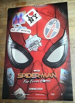 Spider-Man FAR FROM HOME Original INTL 27x40 DS Movie Poster A Tom Holland