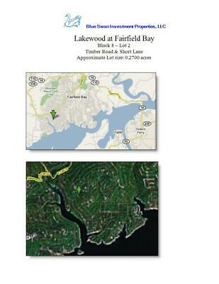 Residential Vacant Lot for Sale in Fairfield Bay Resort, Arkansas
