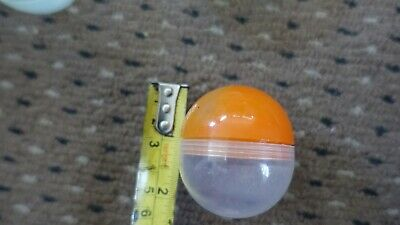 100 empty toy vending capsules 50mm fill them yourself party bag fillers etc.