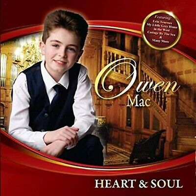 Owen Mac Heart And Soul CD Brand New Pre Order 21/06/19