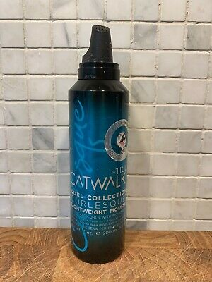 5.07 OZ TIGI Catwalk Curl Collection Lightweight Mousse NEW Free Shipping