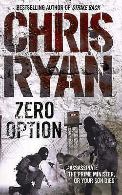 Zero Option by Chris Ryan, Acceptable Used Book (Paperback) Fast & FREE Delivery