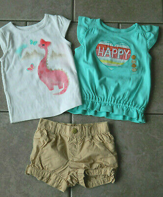 Gymboree Butterfly Catcher 18-24 2T 5T Sets Outfit Shirt Pink 14