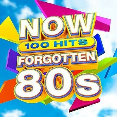 Various Artists - Now 100 Hits Forgotten 80s / Various [New CD] Boxed Set, UK -