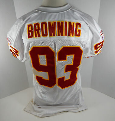 03ec882fda4 ... circa 1986 TODD BELL CHICAGO BEARS GAME WORN NFL FOOTBALL JERSEY.  $70.99 6 Bids 10h 31m. See Details. 2004 Kansas City Chiefs John Browning  #93 Game ...