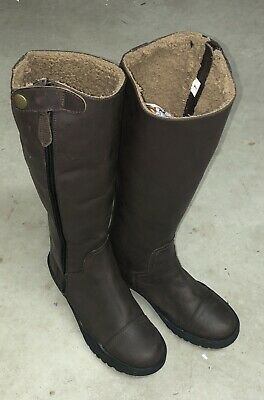 70f2bfa9ffa NEW LADIES TUFF Rider Plus Rider Dress Boots Mesh Lining Sz 10 - Reg ...