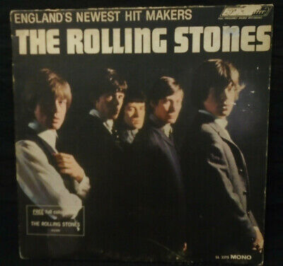 The Rolling Stones - England's Newest Hitmakers - Original MONO Burgundy Label