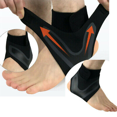 Adjustable Ankle Support Brace Foot Sprains Injury Pain Wrap Guard Protector 1x