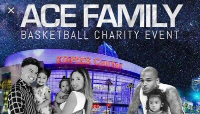 Ace Family Charity Basketball Event Tickets! * PREMIUM SEATS * REDUCED PRICE