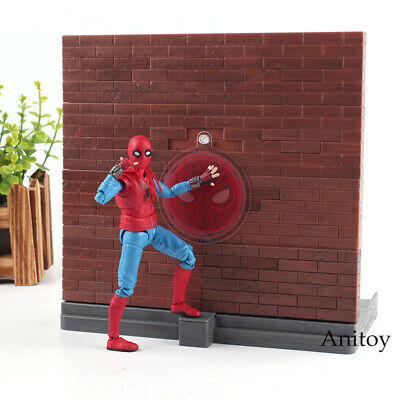 SHF Figuarts Spiderman Homecoming Figure PVC Action Figure Collection Model Toy