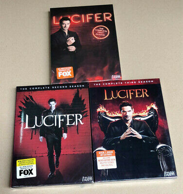 Lucifer - The Complete Seasons 1 2 3 (DVD,11-Disc Set) New Fast Shipping US sell