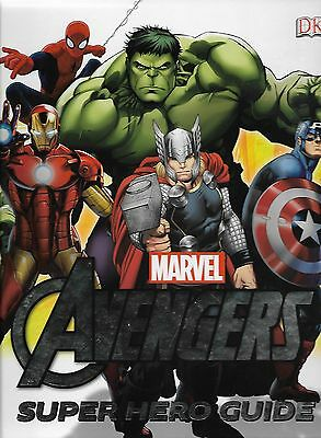 AVENGERS : SUPER HERO GUIDE<>Hardback Book (not a comic but relevant)  ~