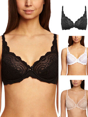 Playtex Flower Elegance Stretch Lace Full Cup Bra P5832 Underwired Lingerie