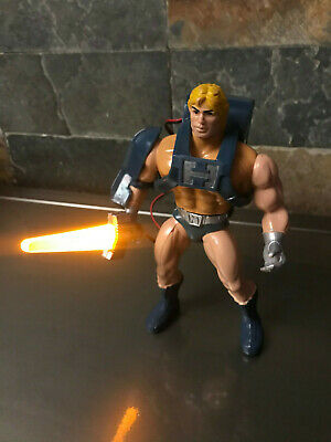 Masters of the Universe. He-man Power Laser - Dolph Lundgren Version