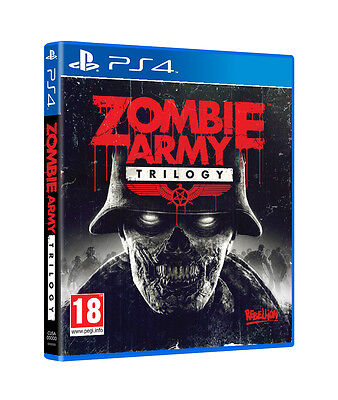 Zombie Army Trilogy (PS4) BRAND NEW SEALED PLAYSTATION 4