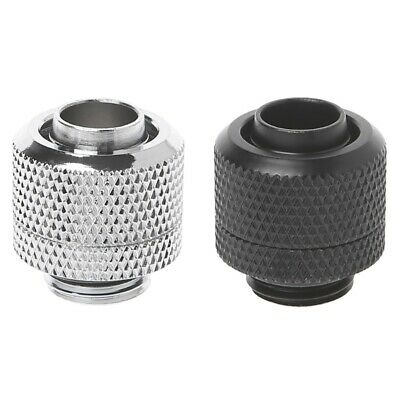 """G1/4 3/8""""ID X 1/2""""OD Tubing Hand Compression Fittings Water Cooling  9.5x12.7mm"""