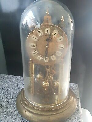 Vintage Haller Table Clock approx 45 years old. Collectors item