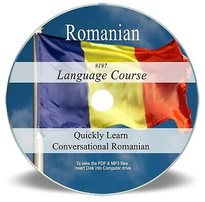 Romanian Language Course - Learn Speak Home Study Audio MP3 PDF Book on CD 197