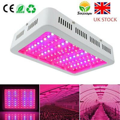 600W 1000W LED Grow Light Full Spectrum Lamp Panel Plant Lights Hydroponic Bloom