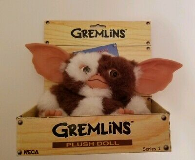 Gremlins Plush Doll Gizmo Series 1 NECA 2003 New in Box
