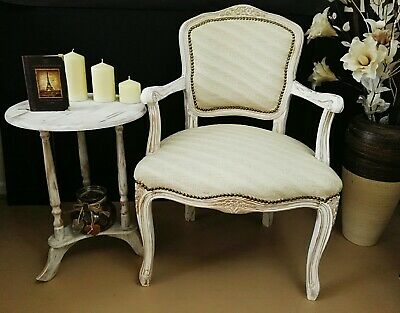 Louis XV French style chair and table