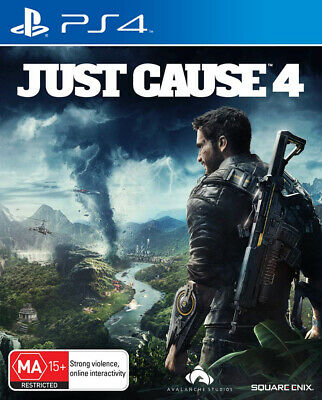 Just Cause 4 for Sony PlayStation 4 PS4 - Brand NEW - SEALED - Free Post