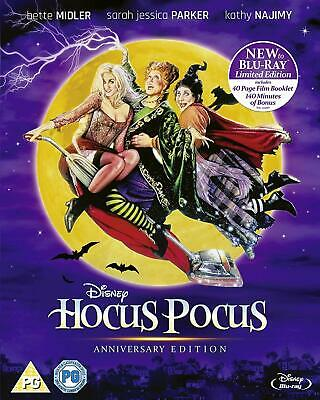 Hocus Pocus Anniversary Edition [Blu-ray] [2018] mint condition uk release