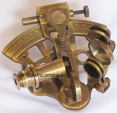 Nautical Maritime Brass SEXTANT Prop Collectible Desktop Sextant Replica