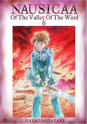 Nausicaa of the Valley of the Wind volume 6 by Hayao Miyazaki, NEW Book, FREE &