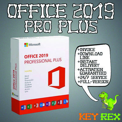 Office 2019 Pro Plus, Professional Plus ✔Vollversion ✔32&64 Bits ✔ KEY+Download