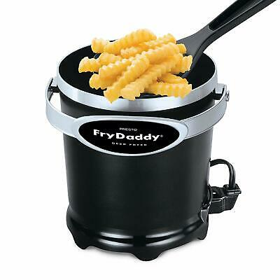 Presto 05420 FryDaddy Electric Deep Fryer, family-sized with just 4 cups of oil
