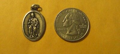 Vintage Catholic Religious antique Holy Medal -unidentified medal #134