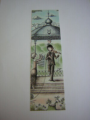 Ancien Marque-Pages Signet Bookmark Raymond Peynet