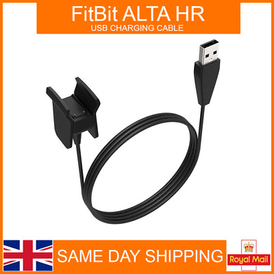 USB Cable Charger Lead Charging for Fitbit ALTA HR Fitness Tracker Wristband