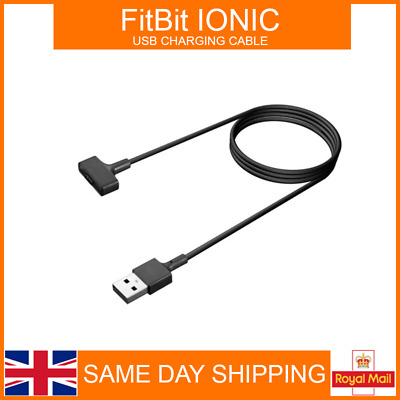 USB Cable Charger Lead Charging for Fitbit IONIC Fitness Tracker Wristband