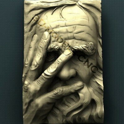 "3D STL Models - ""Saint Peter"" for CNC relief artcam 3d"