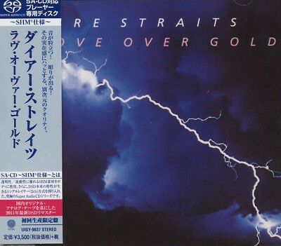 DIRE STRAITS SHM SACD UIGY9637 LOVE OVER GOLD JAPAN LIMITED real 2 channel SACD