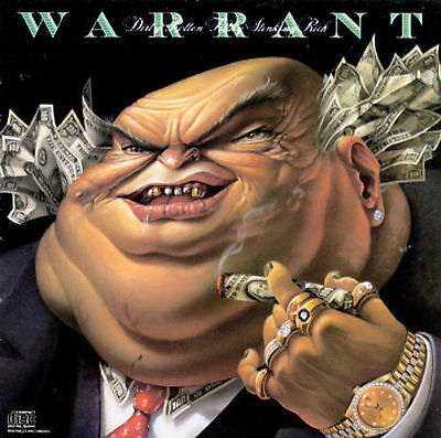 Dirty Rotten Filthy Stinking Rich Warrant Audio CD