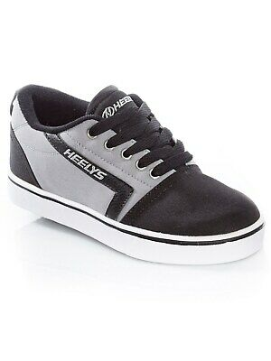 Heelys Black-Grey GR8 Pro Kids One Wheel Shoe