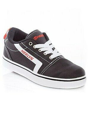 Heelys Black-White-Red GR8 Pro Kids One Wheel Shoe