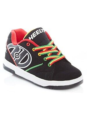 Heelys Black-Reggae Propel 2.0 Kids One Wheel Shoe