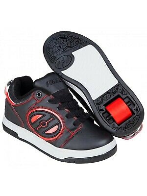 Heelys Black-Red Voyager Kids One Wheel Shoe