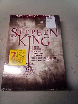 Stephen King Movies & TV Collection (DVD, Brand New) 7 Films