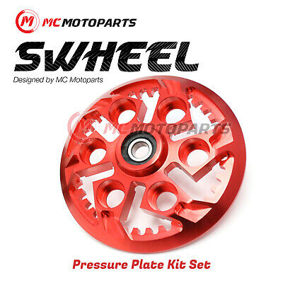 For Ducati 1198 R S SP Corse SE RED Billet Swheel Clutch Pressure Plate